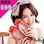 Selly outlet (SH004)奢華品味.漆皮金屬飾...