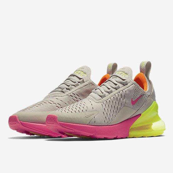 預購 3F美國代購 100%正品 Nike Air Max 270 Neon AH6789-005 女款 23CM