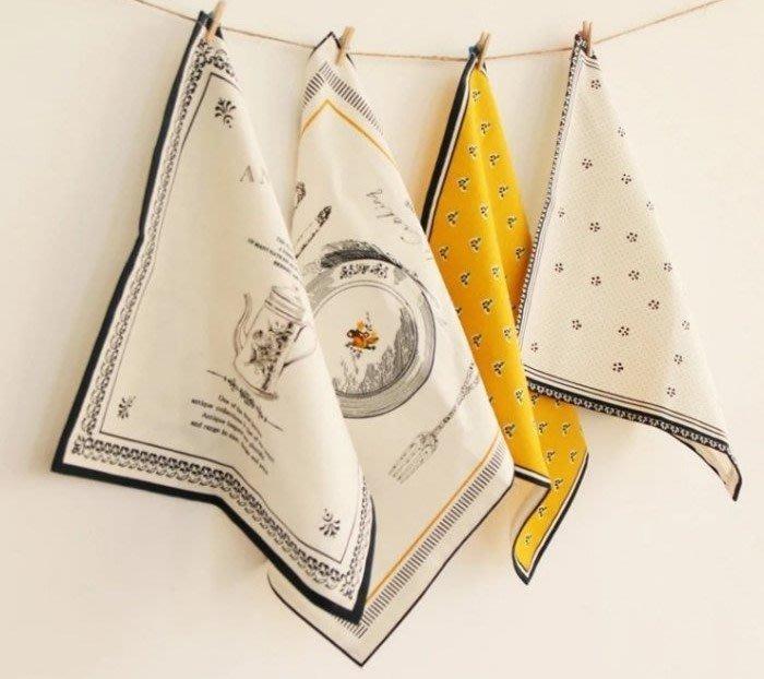 法式軟布餐巾