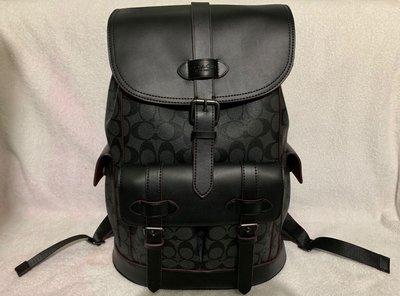 100%real & new Coach 牛皮 經典logo 背包 Backpack 原價$7,900(人民幣¥6,950)