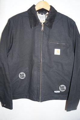 「NSS』CARHARTT WIP wacko maria WM OG Detroit Jacket 外套 豹紋 黑 S