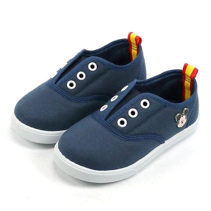 童鞋/Disney迪士尼米奇休閒鞋.便鞋.室內鞋.藍16~20號