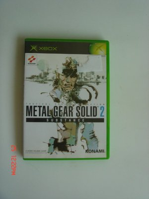 XBOX 潛龍諜影2 Metal Gear Solid 2 MGS2
