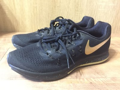 Nike pegasus 33 zoom Air 黑金 限量 off Jordan