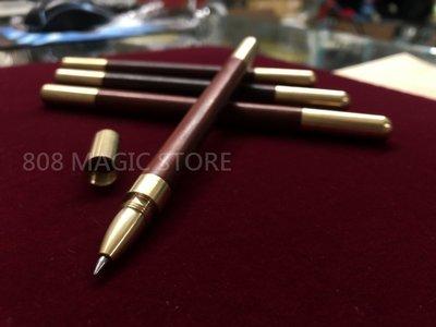 [808 MAGIC]魔術道具 魔術棒筆(紅) 金屬頭高質感木筆 (不挑款) 長度16cm