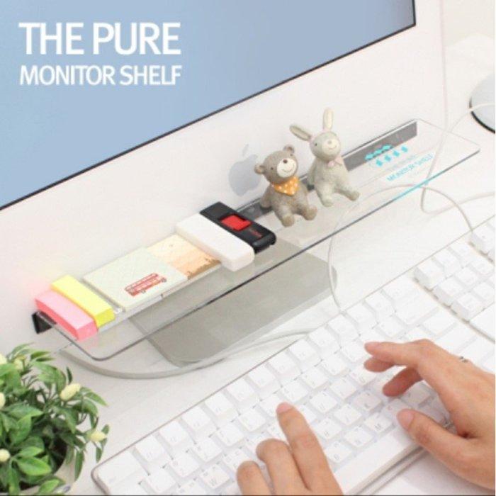 創意文具電腦顯示器收納架 桌面雜物整理架 隔板 留言板貼(1入)_☆優購好SoGood☆