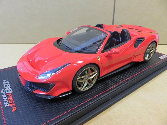 =Mr. MONK= 1/18 MR Ferrari 488 Pista Spider
