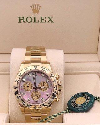Rolex Daytona 116508NG 白貝 石字 (歐洲 水貨)