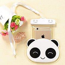防水袋 5.5吋內通用款 手機防水袋 夏日 水果造型 熊貓 手機防水袋 防潑水套 立體 手機袋 掛繩 蘋果/三星/HTC