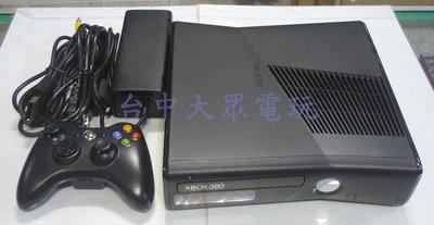 XBOX360 主機 250G (黑色) **(二手主機商品)**可以加購KINECT攝影機【台中大眾電玩】