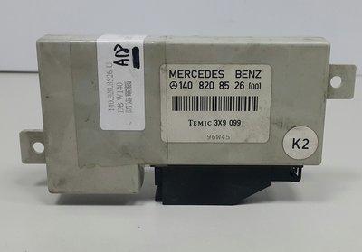BENZ W124 1993-1995 防盜電腦 中控鎖電腦 電腦 (防拖吊 中控鎖用) 1408208526