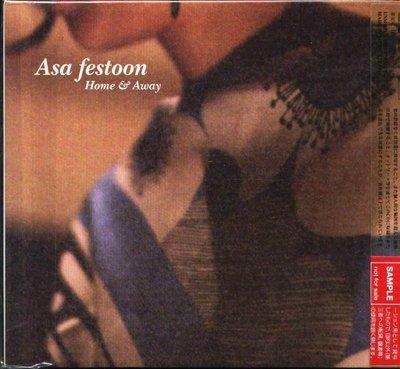 K - Asa festoon アサ・フェストゥーン - Home & Away - 日版 2 CD - NEW