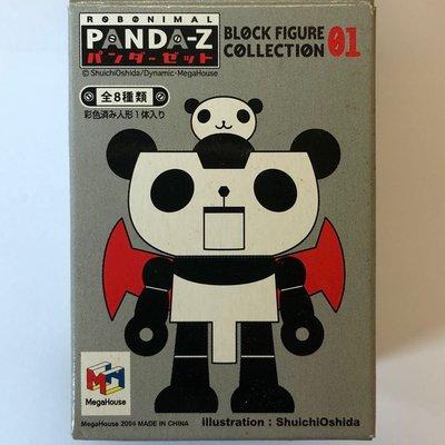 全新 Panda-Z 熊貓萬能俠 盒蛋 盒旦 只售2款