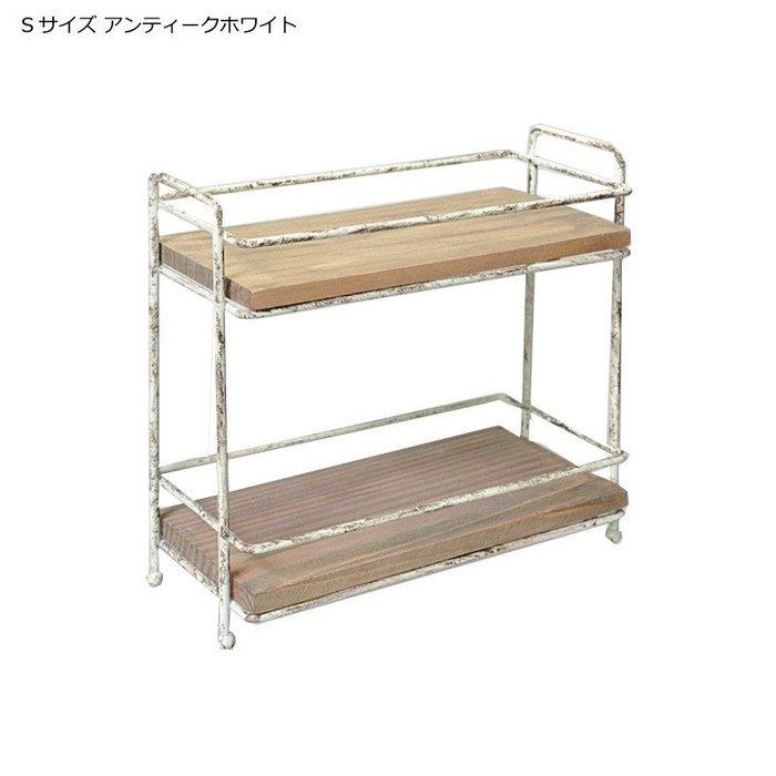 《齊洛瓦鄉村風雜貨》日本zakka雜貨 日本長方形造型收納架 桌上收納架 調味罐收納架 小東西收納架 (小的)