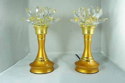 水晶蓮花燈10.5吋