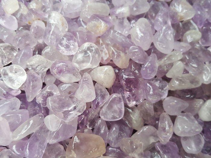 天然紫水晶碎石500公克 五行水晶七寶碎石【東大開運館】