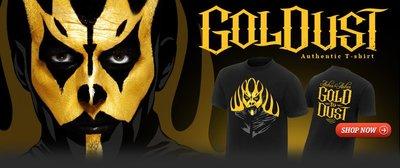 ☆阿Su倉庫☆WWE摔角 Goldust Ashes To Ashes T-Shirt GOLDUST灰飛煙滅絕版款出清