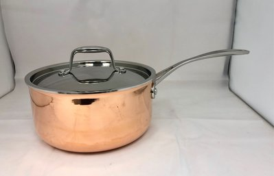3層銅煲/3ply copper saucepan w lid