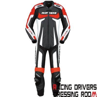 ♚賽車手的試衣間♚Spidi® T-2 Kangaroo Wind Pro Black/Red 連身 袋鼠皮 防摔皮衣