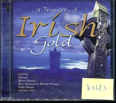*真音樂* A TREASURY OF IRISH 全新 K3683(清倉.下標賣4)