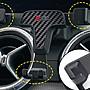保時捷 Macan 凱彥 休旅車 CLEC 專用型 6吋 碳纖維 卡扣式 專用重力手機支架 免吸盤黏貼 卡扣手機架