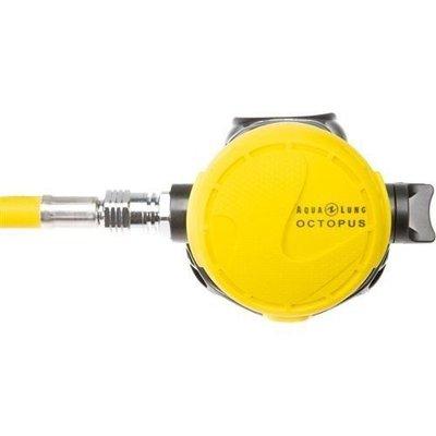 台灣潛水~~~AQUALUNG  Calypso OCTOPUS 水精靈黃色備用二級頭