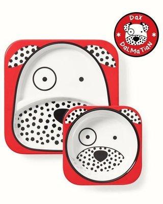 馬上寄!PIZZA BUY Skip Hop 2019 美國直送歐盟 餐盤湯碗兩件組~可愛小狗狗