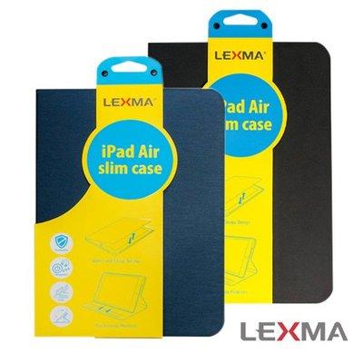 點子電腦☆北投@LEXMA iPad Air slim case 超輕薄保護皮套 品質良好 黑色&藍色☆只賣80元