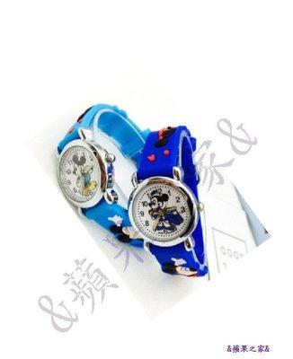 &蘋果之家&現貨-米奇合金硅膠電子石英錶-附精美包裝禮盒喔!^^