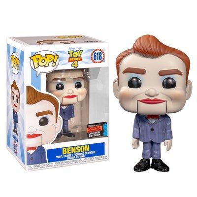 BEETLE 現貨 FUNKO POP NYCC TOY STORY 4 BENSON 阿本  玩具總動員