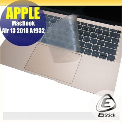 【Ezstick】APPLE MacBook AIR 13 A1932 2018年 奈米銀抗菌TPU 鍵盤保護膜 鍵盤膜
