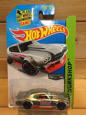 (I LOVE 樂多) 風火輪 Hot Wheels '70 CHEVY CHEVELLE 模型車