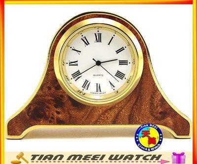 【天美鐘錶店家直營】【下殺↘超低價】全新-銅製典雅小座鐘
