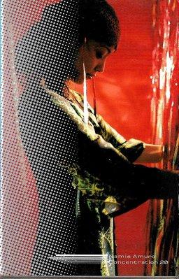 安室奈美惠Namie Amuro / Concentration 20(原版錄音卡帶.附:歌詞本)