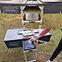 比德堡 行動廚房 室內戶外兩用 全折疊 旅行箱收納 野餐 露營 鋁擠型鋁合金結構