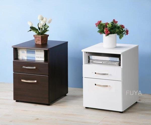 一格二抽無銳角公文櫃 收納櫃 床頭櫃 邊櫃 活動櫃~【馥葉】【型號SH070】可加購活動輪