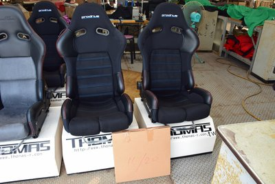 PRODRIVE  功夫龍碳纖維 怪獸椅 尺寸XL放大版坐起來不會很壓迫   BRIDE  賽車椅