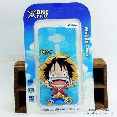 【UNIPRO】華碩 ZenFone 3 Deluxe 海賊王 One Piece Q版魯夫 TPU 手機殼 正版授權