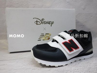 【MOMO潮品折扣館】NEW BALANCE 兒童 運動鞋 NB 574 迪士尼 聯名款 復古鞋 中童款 YV574DSA W