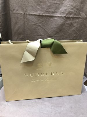全新正品BURRERRY紙袋