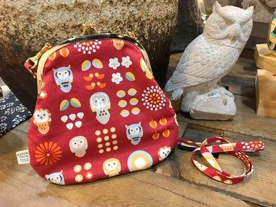 日本kotoritachi專利花布口金斜背包~最特別的禮物都在奧爾思~