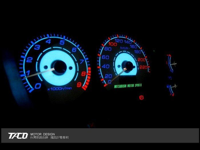 《達克冷光實體店面 現貨供應》VIRAGE 98~00 晶鑽藍高反差冷光儀表