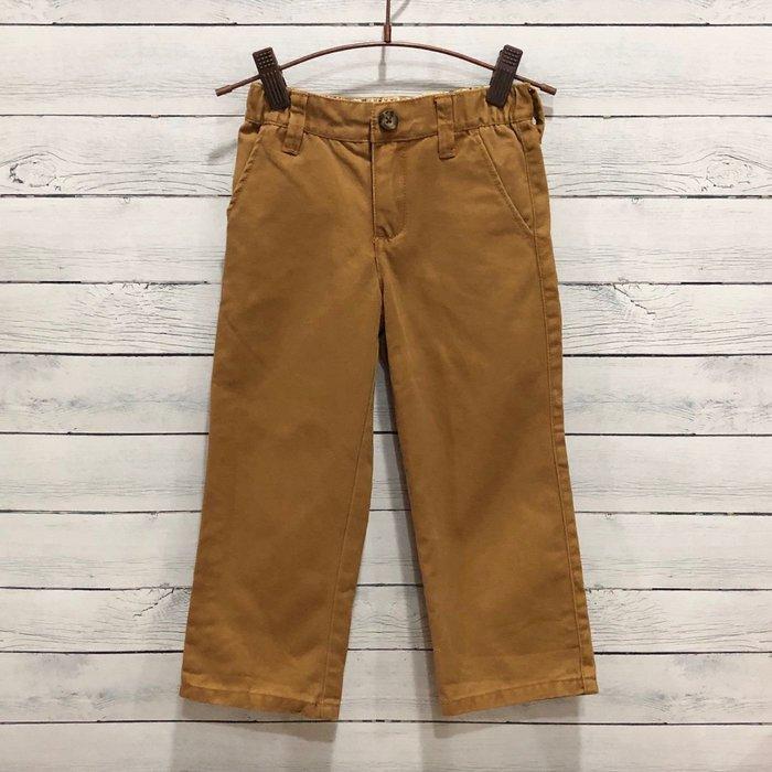 Maple麋鹿小舖 美國購買童裝品牌 GYMBOREE 男童深卡其色長褲 * ( 現貨3T )