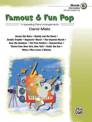 【599免運費】Famous & Fun Pop, Book 5  Alfred 00-25977