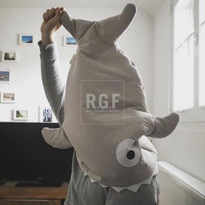 睡袋正版授權西班牙進口Baby Bites純棉嬰兒新生兒睡袋鯊魚抱被防踢被