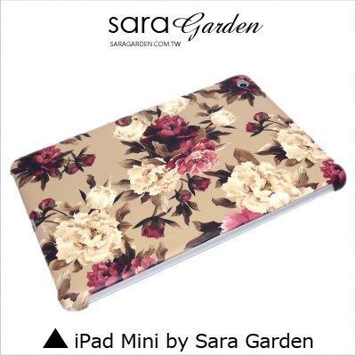 iPad Mini 1 2 3 4 客製化 保護殼 低調 碎花 玫瑰花【G347】