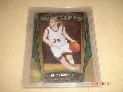 美國職籃 NBA Spurs 教練 Becky Hammon 2015 UD Goodwin Champions 球員卡