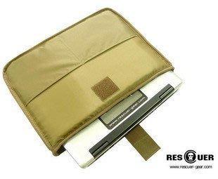 新品RESCUER-拯救者 便攜單肩背包內膽 筆記本包內膽(泥色)
