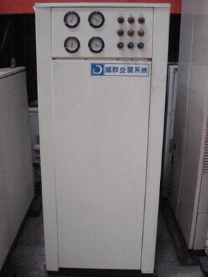 (大台北)中古威群10RT水冷冰水機1φ220V(編號:AA1020601)~餐飲業空調皆適用~