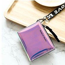 小錢包女短款學生韓版可愛新款小清新折疊多功能錢包